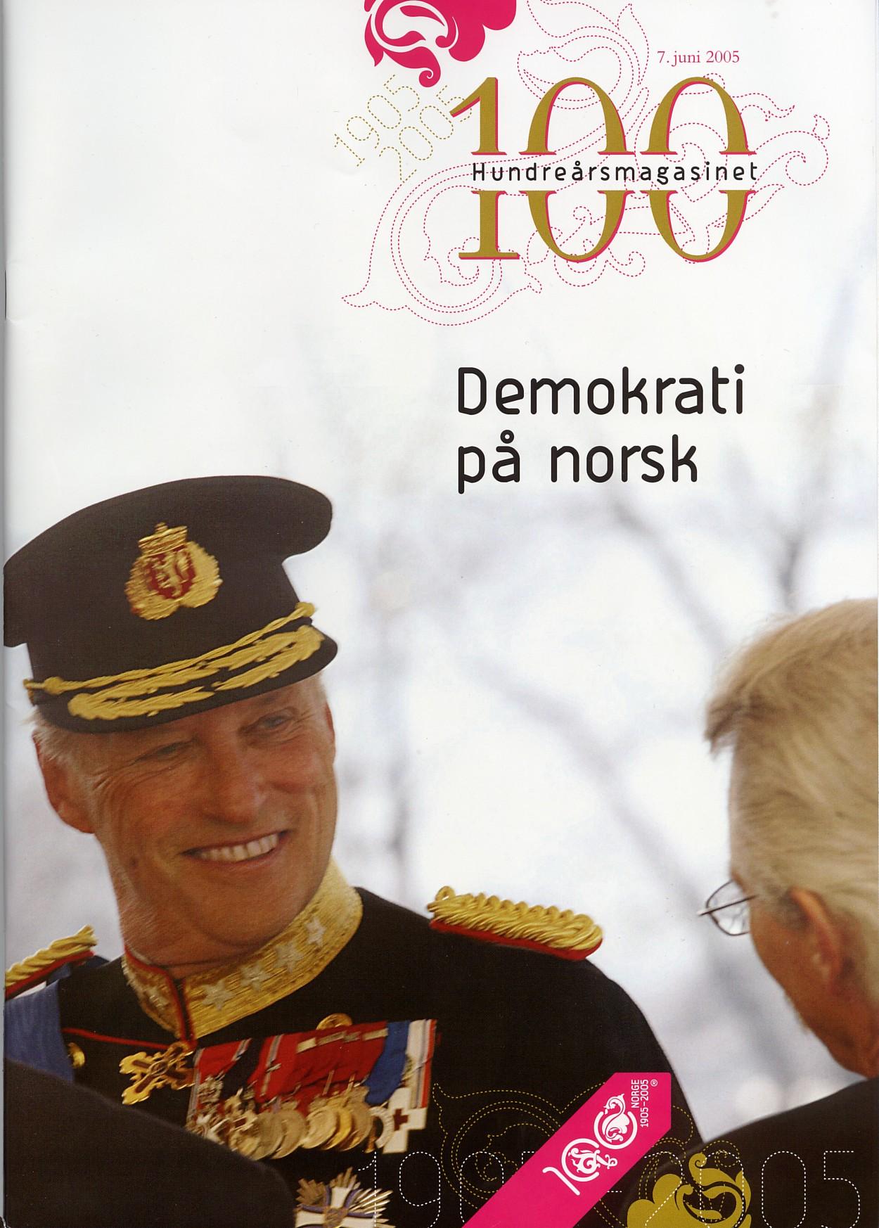 Hundreårsmagasinet – Demokrati på norsk